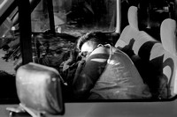 Sleeping in the Truck