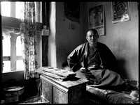 Monk in his Room